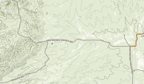 San Rafael State Natural Area Map