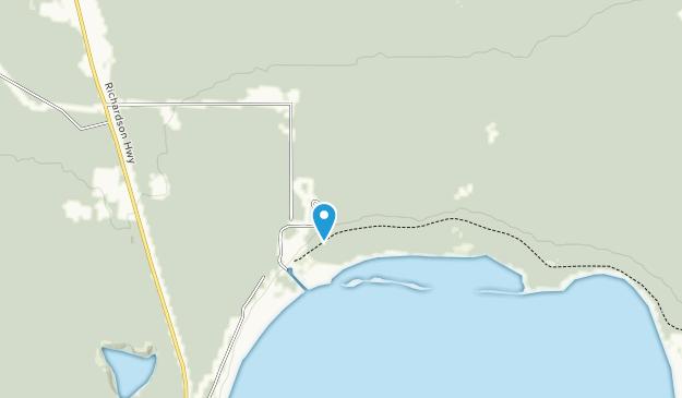 Harding Lake State Recreation Area Map