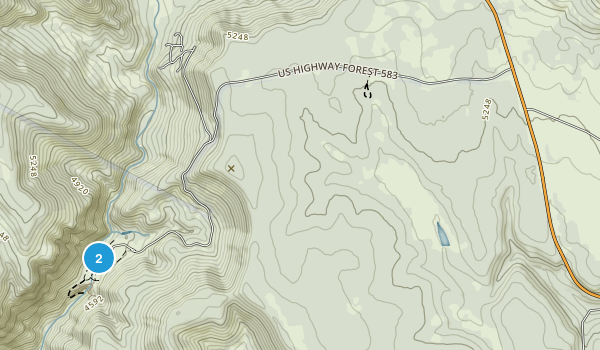 Tonto Natural Bridge State Park Map