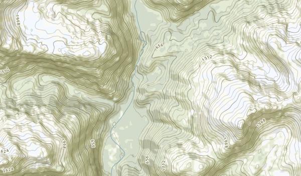 Kachemak Bay State Park Map