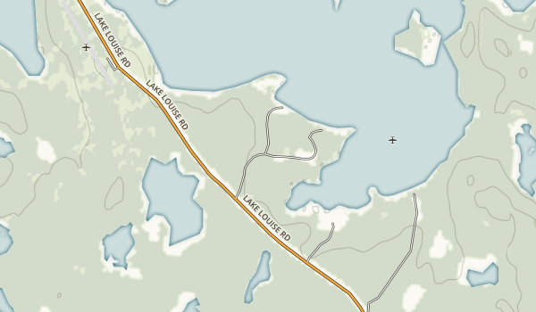 Lake Louise State Recreation Area Map