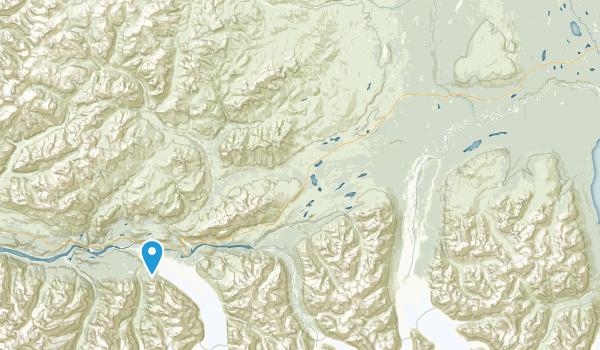 Matanuska Glacier State Recreational Site Map