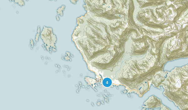 Old Sitka State Historical Park Map