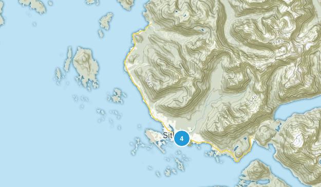 Parque Histórico Estatal Old Sitka Map