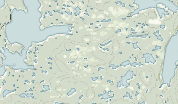 Shuyak Island State Park Map