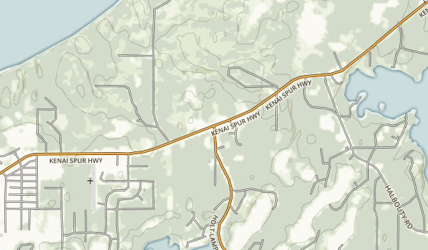 Stormy Lake Boat Launch & Day Use Area Map