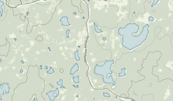 Swanson River Landing Map