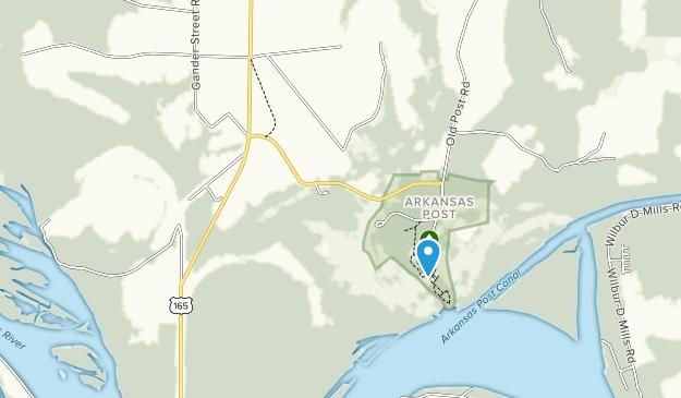 Arkansas Post Museum Map