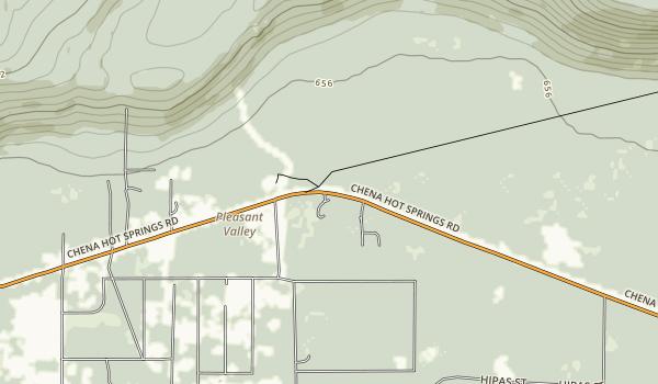 Twin Bears Camp Map