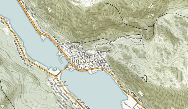 Wickersham State Historical Park Map