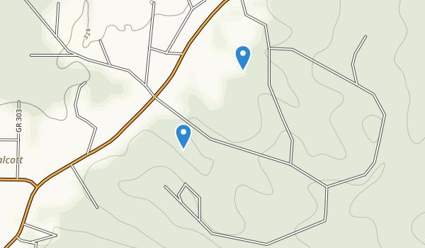 Crowley's Ridge State Park Map