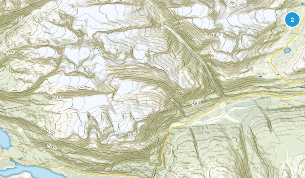 Worthington Glacier State Recreation Site Map
