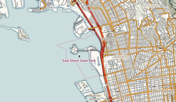 Albany State Marine Reserve Map