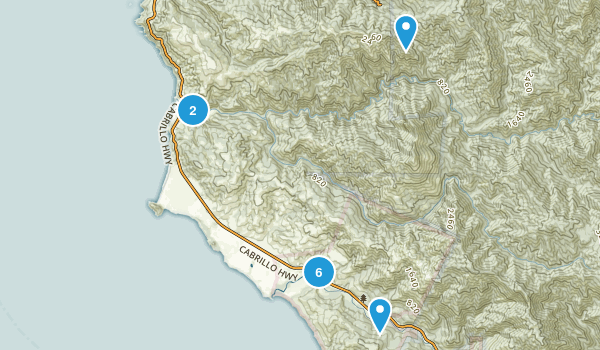 Andrew Molera State Park Map