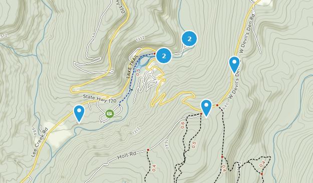 Devil\\\'s Den Map Best Trails in Devil's Den State Park   Arkansas   AllTrails