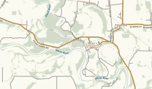 Jacksonport State Park Map