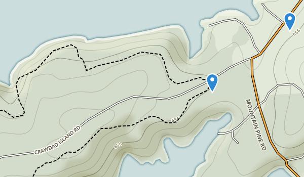 Lake Ouachita State Park Map