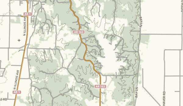 Lake Poinsett State Park Map
