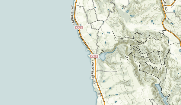 Bean Hollow State Beach Map