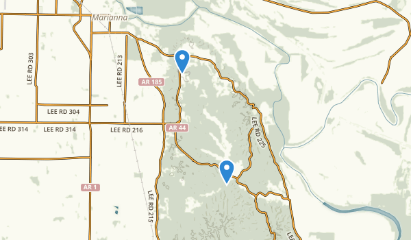 Mississippi River State Park Map