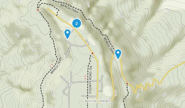 State Parks In Arkansas Map.Best Trails In Mount Nebo State Park Arkansas Alltrails