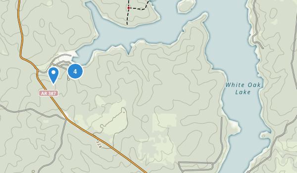 White Oak Lake State Park Map