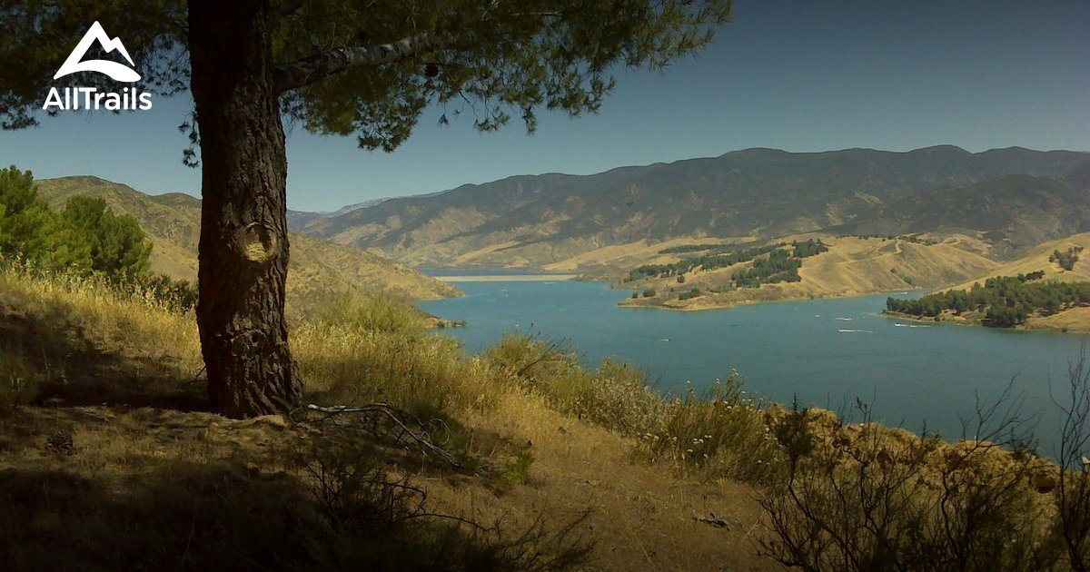 Best trails in castaic lake state recreation area for Castaic lake fishing