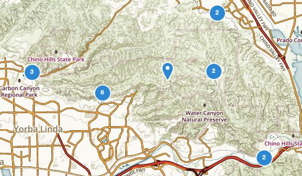 Chino Hills State Park Map