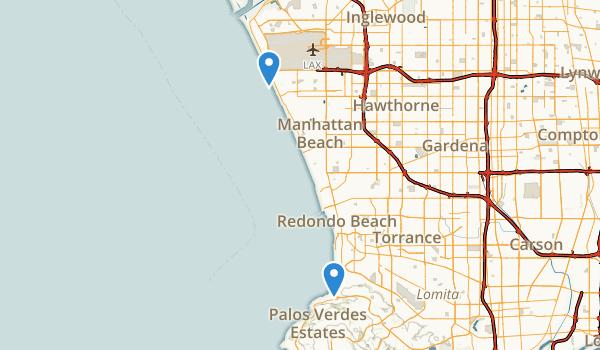 Dockweiler State Beach Map