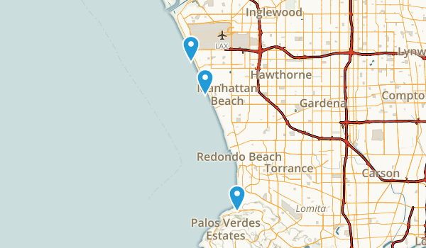 Dockweiler State Beach Map