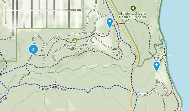 Ed Z'berg Sugar Pine Point State Park Map