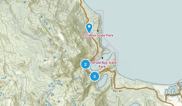 Emerald Bay State Park Map