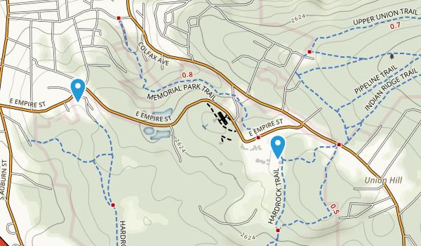 Empire Mine State Historic Park Map