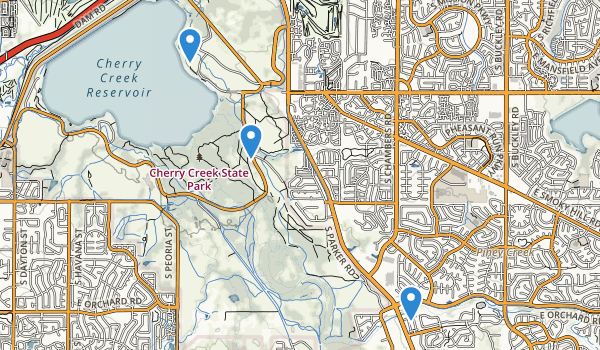 Cherry Creek State Park Map