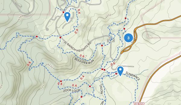 Cheyenne Mountain State Park Map