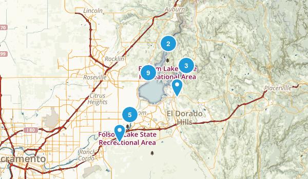 Folsom Lake State Recreation Area Map