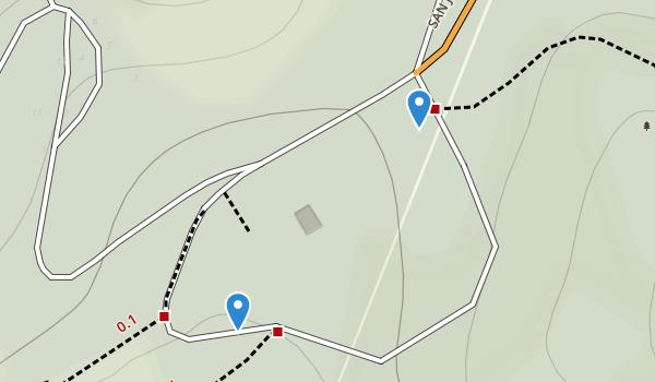 Fremont Peak State Park Map