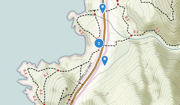 Garrapata State Park Map