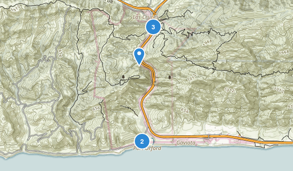 Gaviota State Park Map