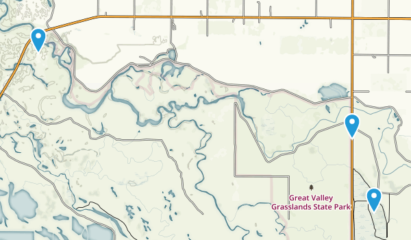 Best Trails In Great Valley Grasslands State Park California - Us map of state parks
