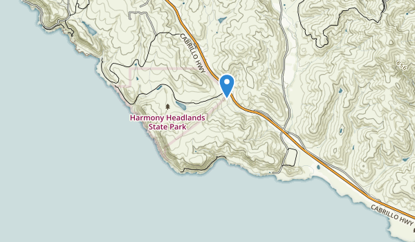 Harmony Headlands State Park Map
