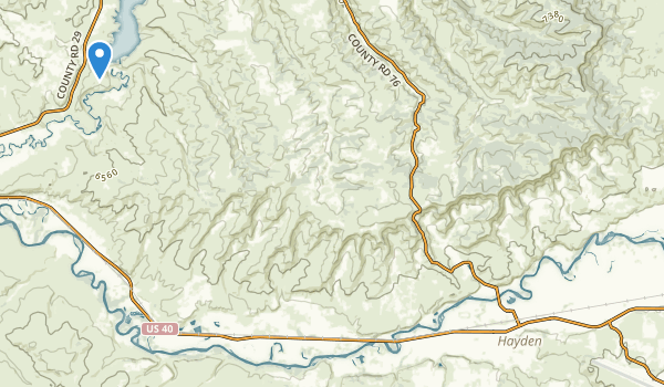 Elkhead State Park Map