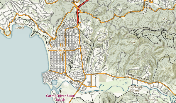 Hatton Canyon Map