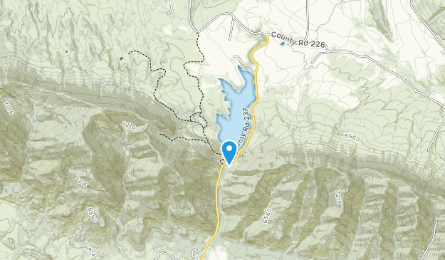 Harvey Gap State Park Map