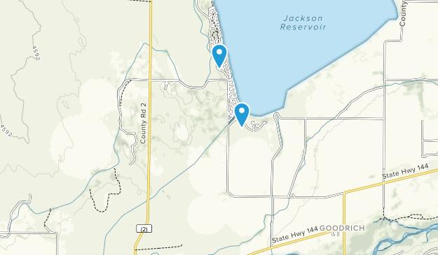 Jackson Lake State Park Map