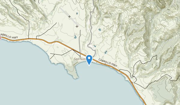 Hearst San Simeon State Historic Monument Map