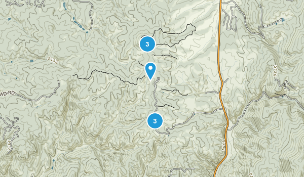 Mueller State Park Map