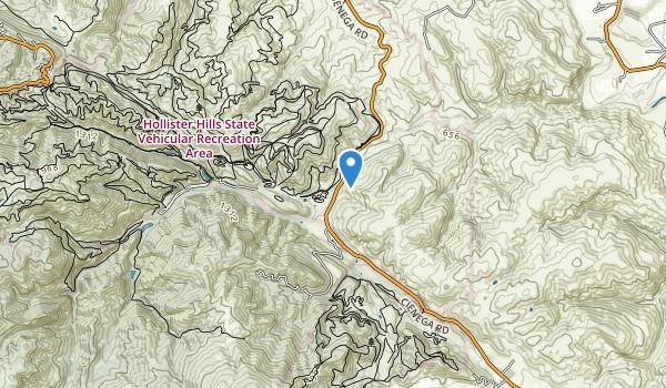 Hollister Hills State Vehicular Recreation Area Map