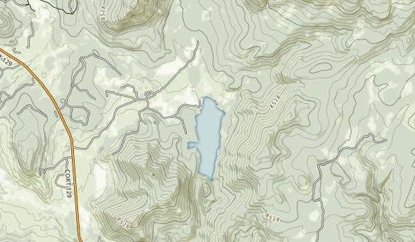 Pearl Lake State Park Map
