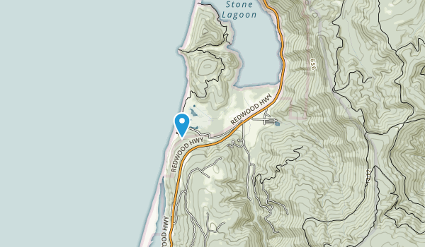 Humboldt Lagoons State Park Map